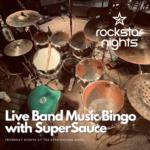 Live Band Music Bingo – Meet Victoria band, SuperSauce at Rockstar Nights